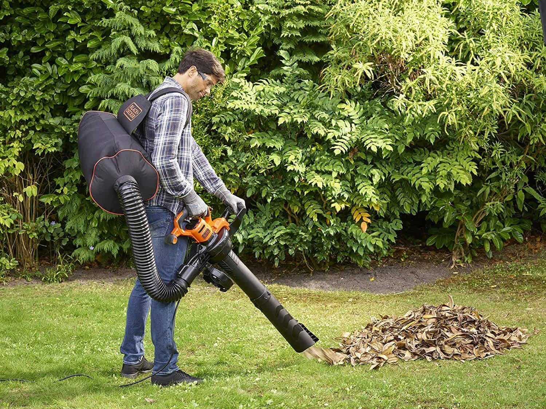 Utiliser un souffleur de feuilles à dos